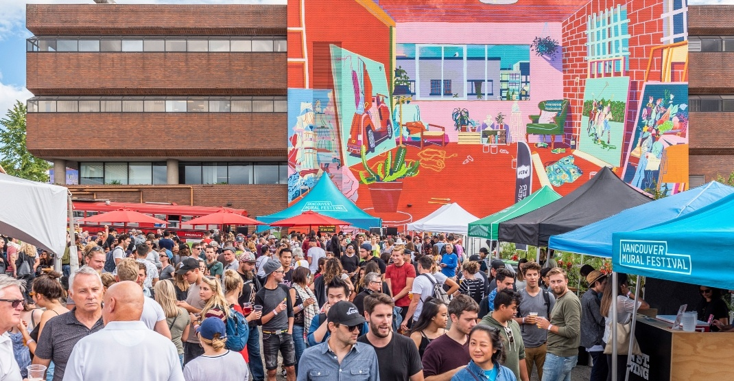 Vancouver's Mural Festival announces artists for huge street party