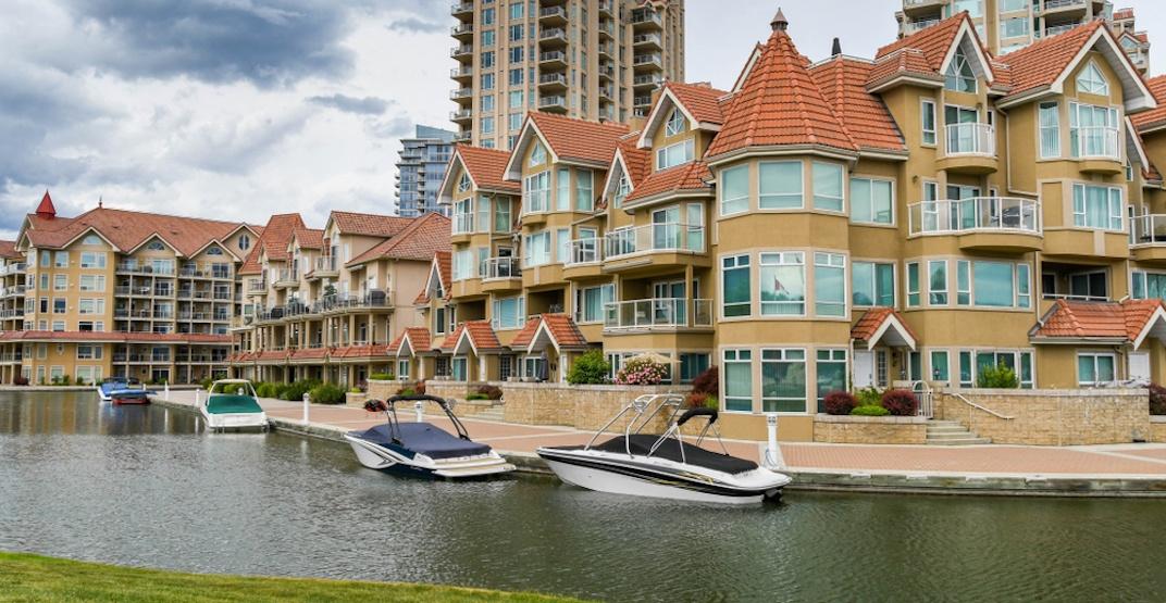 Kelowna Waterfront Park canal