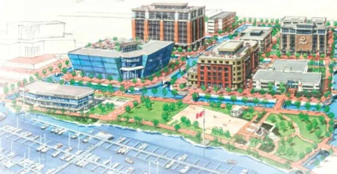 Downtown kelowna canal waterways proposal