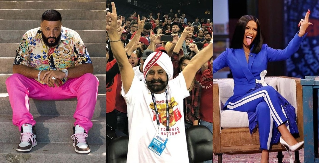 Raptors Superfan Nav Bhatia wants you to party with him, DJ Khaled, and Cardi B