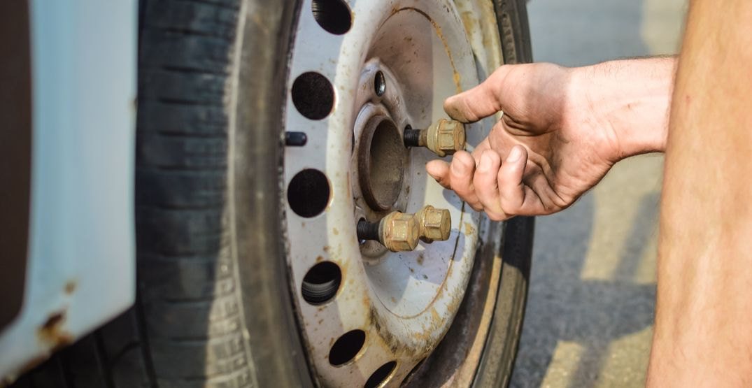 RCMP warning the public of potential lug nut loosener in Burnaby