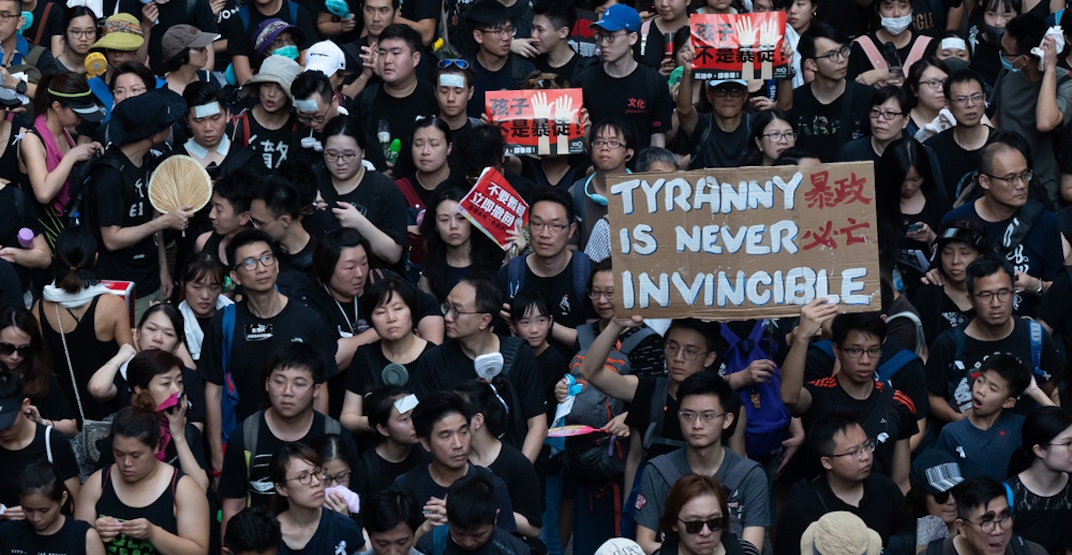 Hong Kong pro-democracy protest slated for downtown Vancouver tomorrow