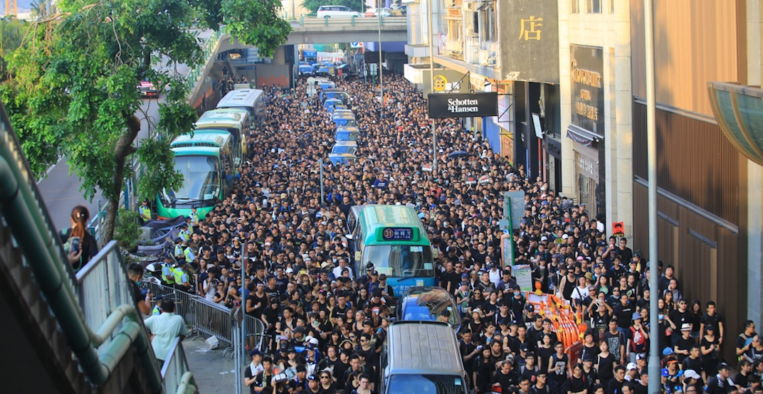 Hong Kong China extradition bill