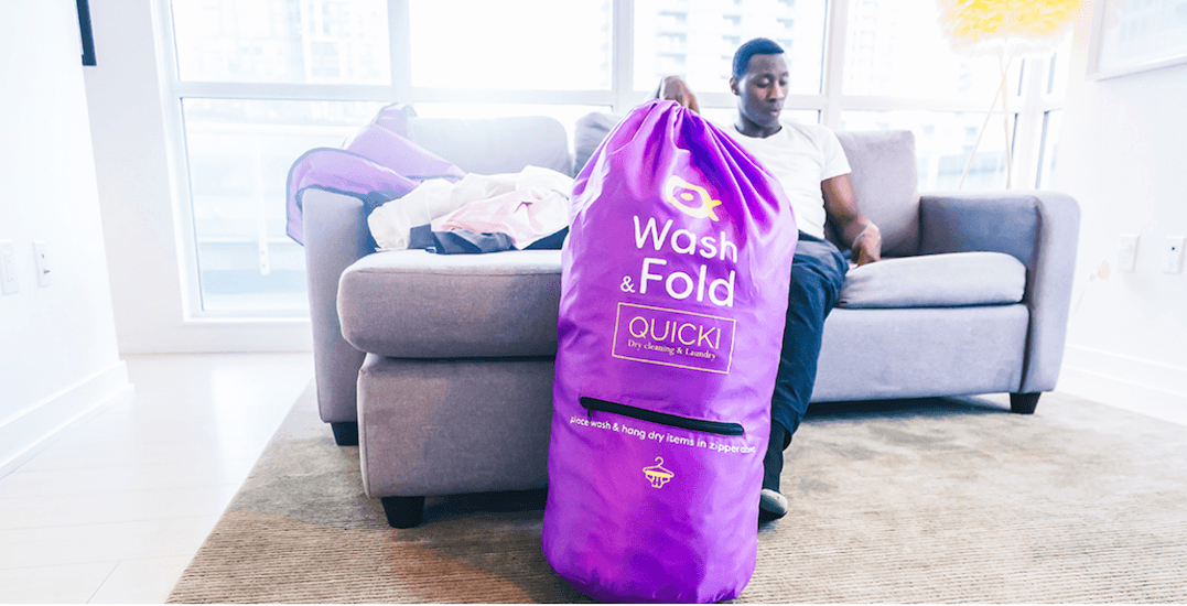 An on-demand laundry service just launched in Toronto