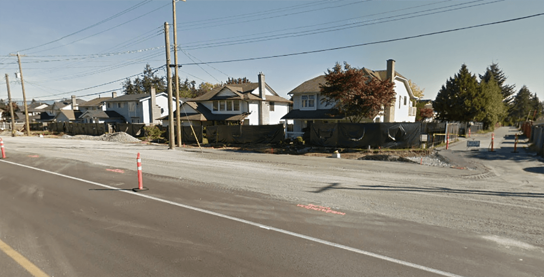 RCMP close part of 128th Street in Surrey to execute drug probe search warrant