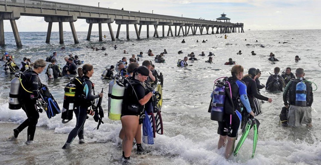 Guinness World Record broken for most participants in an ocean clean-up