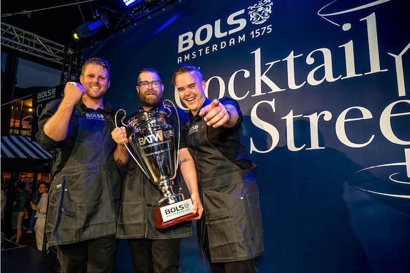 Botanist Bar wins World's Best Bar Team