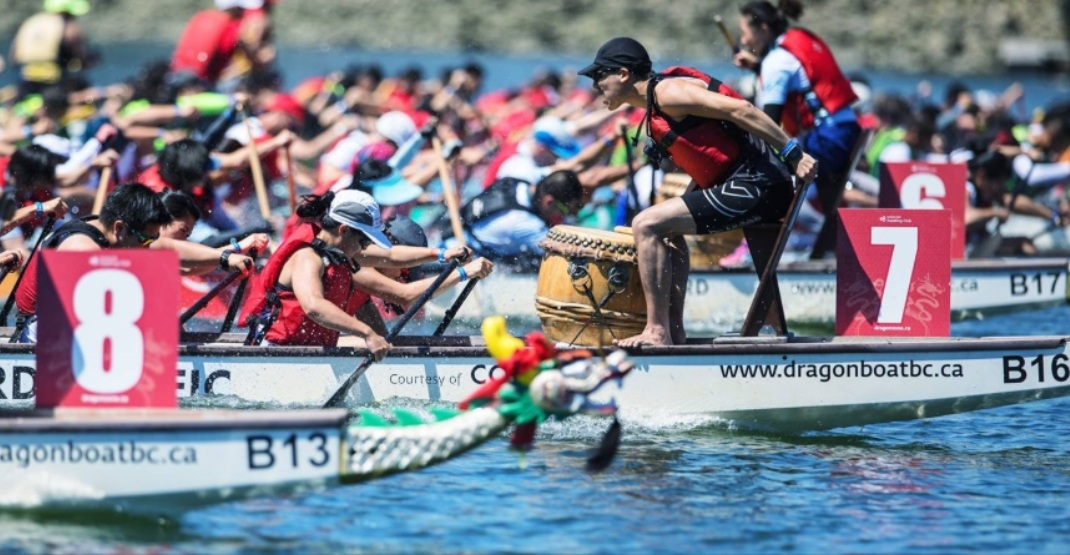 The Vancouver Dragon Boat Festival returns to False Creek this weekend