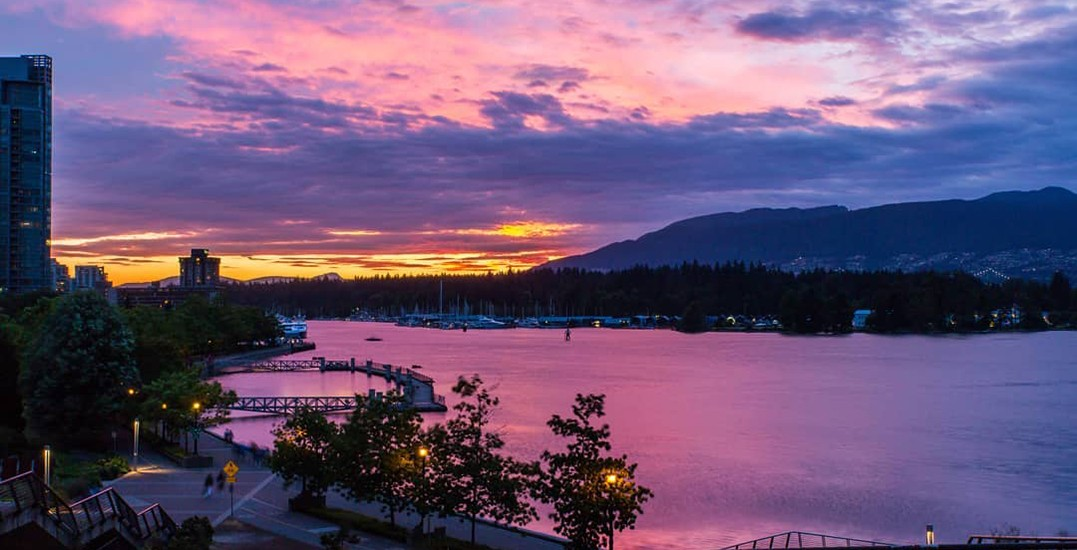 26 photos of the gorgeous sunset over Vancouver last night