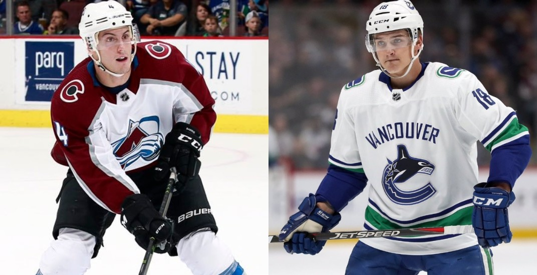 Canucks talking to Avalanche about a Barrie-Virtanen trade: report