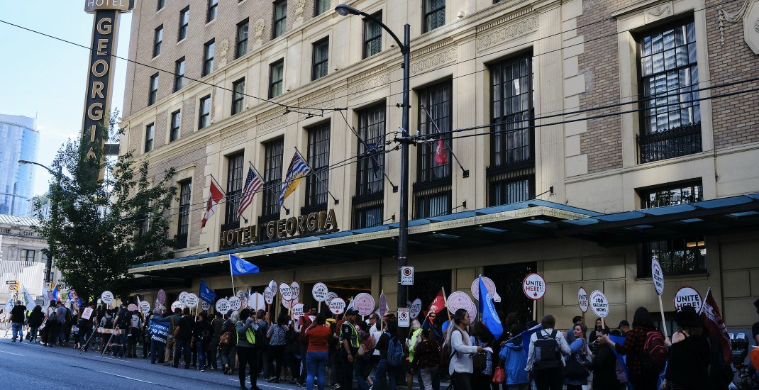 Hotel Georgia reaches tentative deal with union after non-stop 29-hour bargaining session