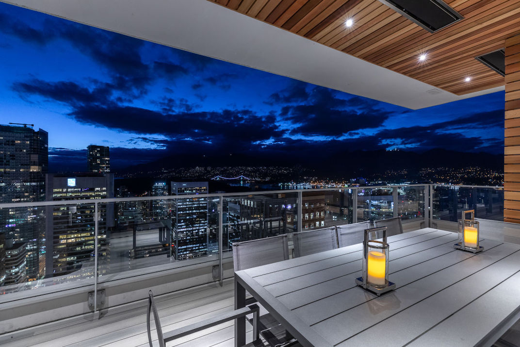 A look inside: $35 8 million penthouse at Vancouver's Hotel