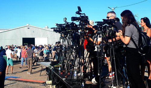 media cameras