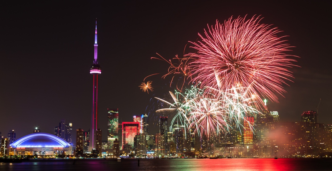 Where to watch Canada Day fireworks in and around Toronto