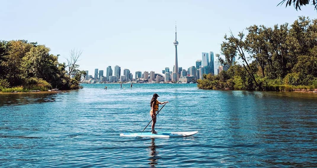 Toronto's Ward's Island could be getting a new beach (RENDERINGS)