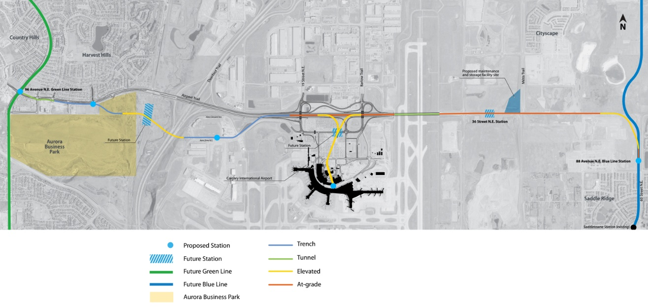 Calgary Airport Line