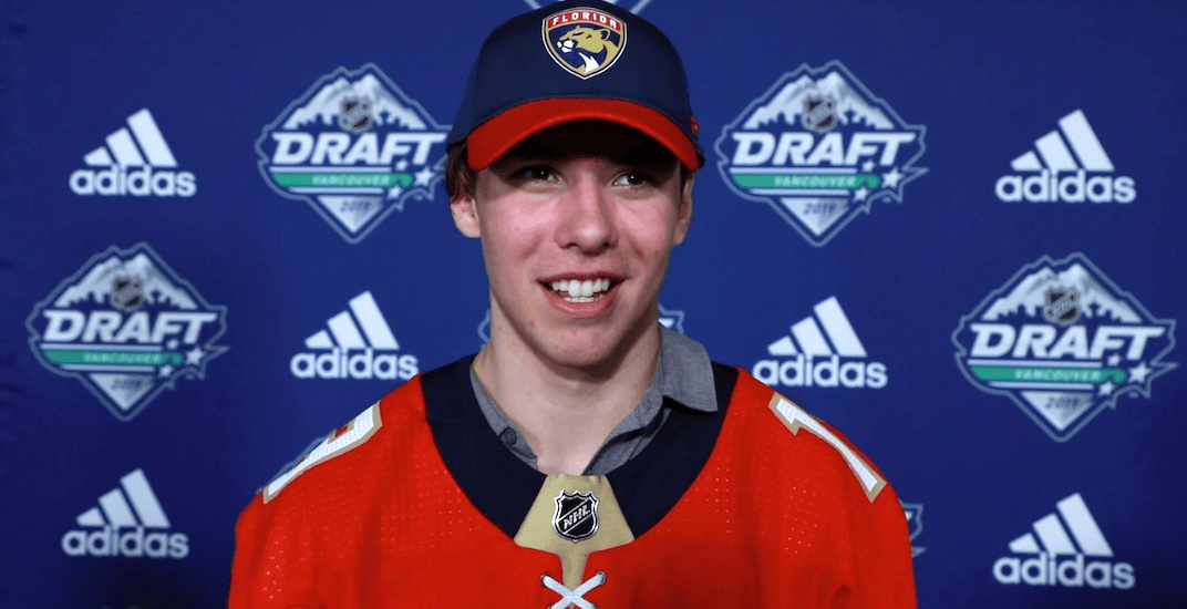 17-year-old Vancouverite Henry Rybinski drafted by Florida Panthers while taking driving test