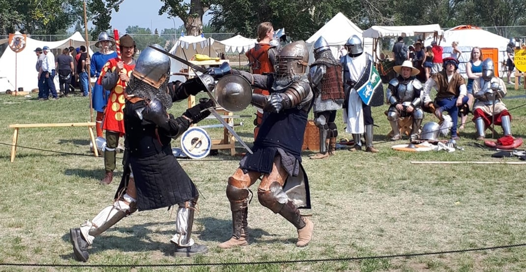 Live out your medieval fantasies at this summer faire in Alberta