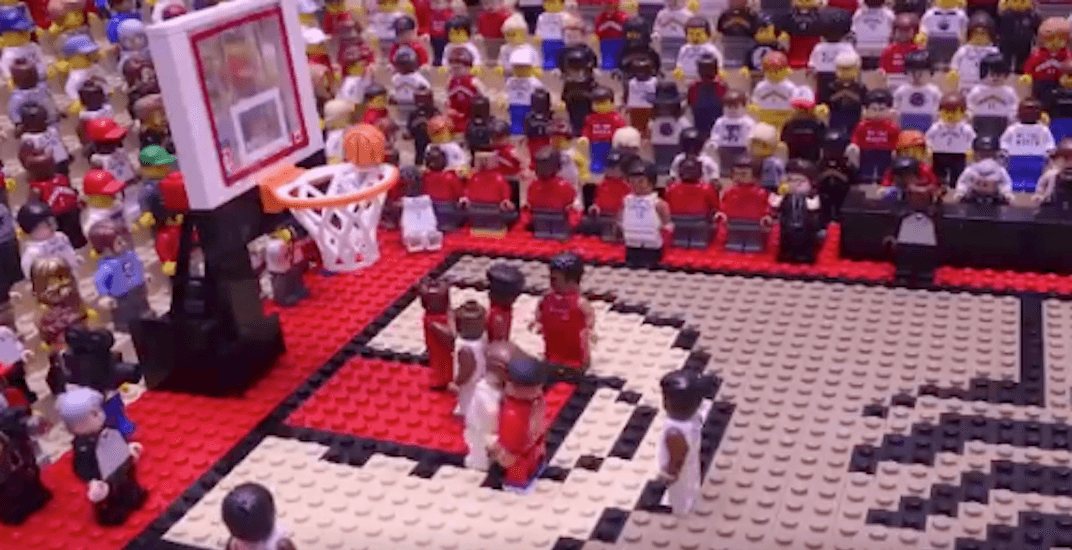 Re-live Kawhi Leonard's Game 7 buzzer beater in LEGO form (VIDEO)