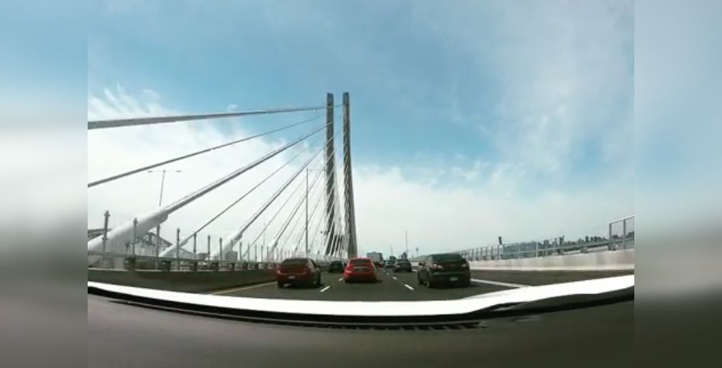 Check out what it's like driving on the New Champlain Bridge (VIDEOS)