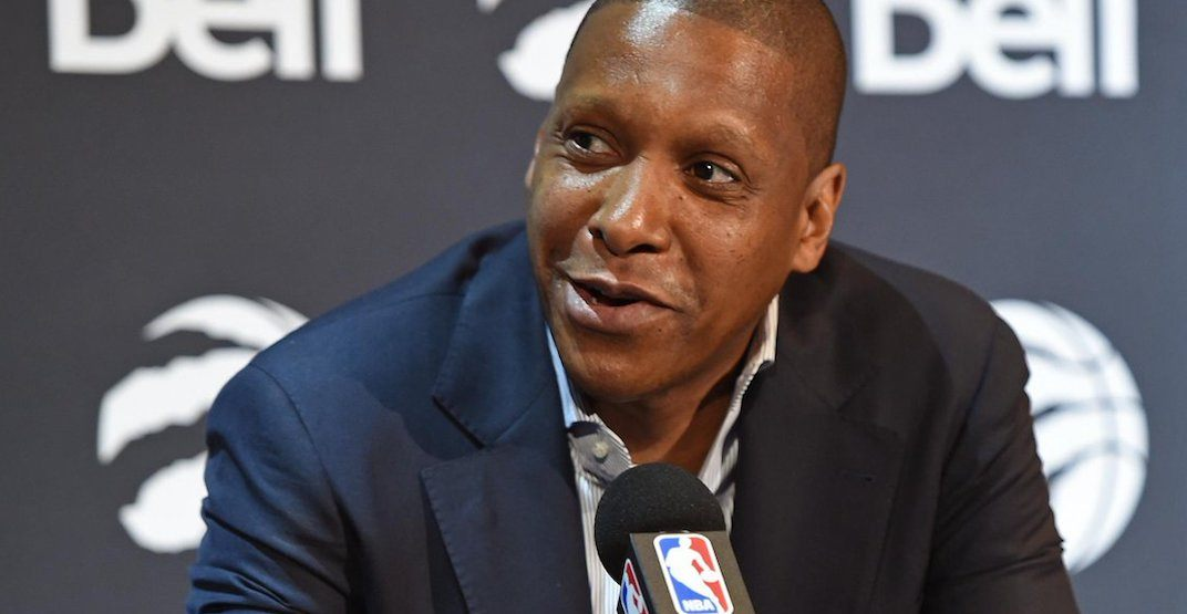 New footage shows Masai Ujiri was shoved by security at NBA Finals (VIDEO)