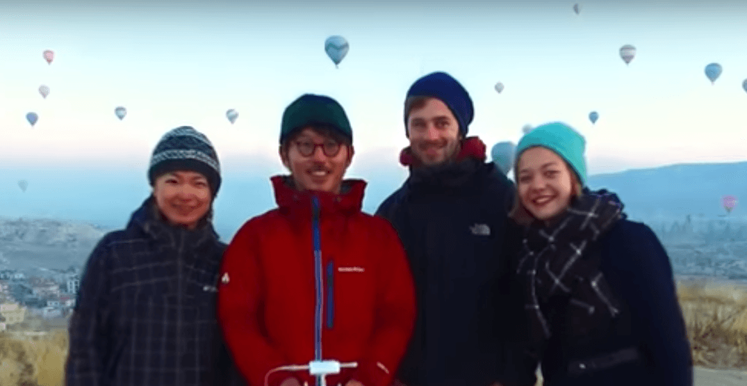 These honeymooners travelled to 48 countries in 400 days (VIDEO)
