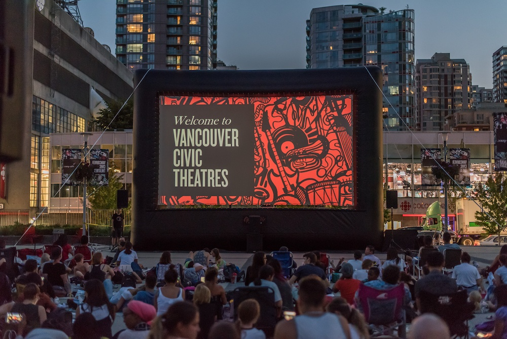 Vancouver Civic Theatre's Sunset Cinema returns tonight