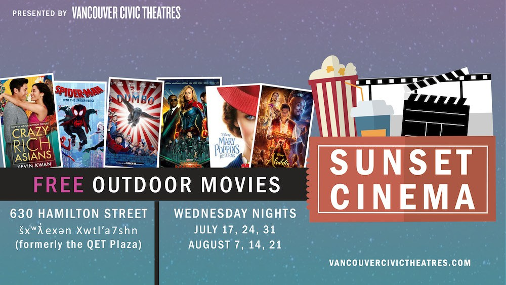 Here are all the FREE movies you can watch at Vancouver