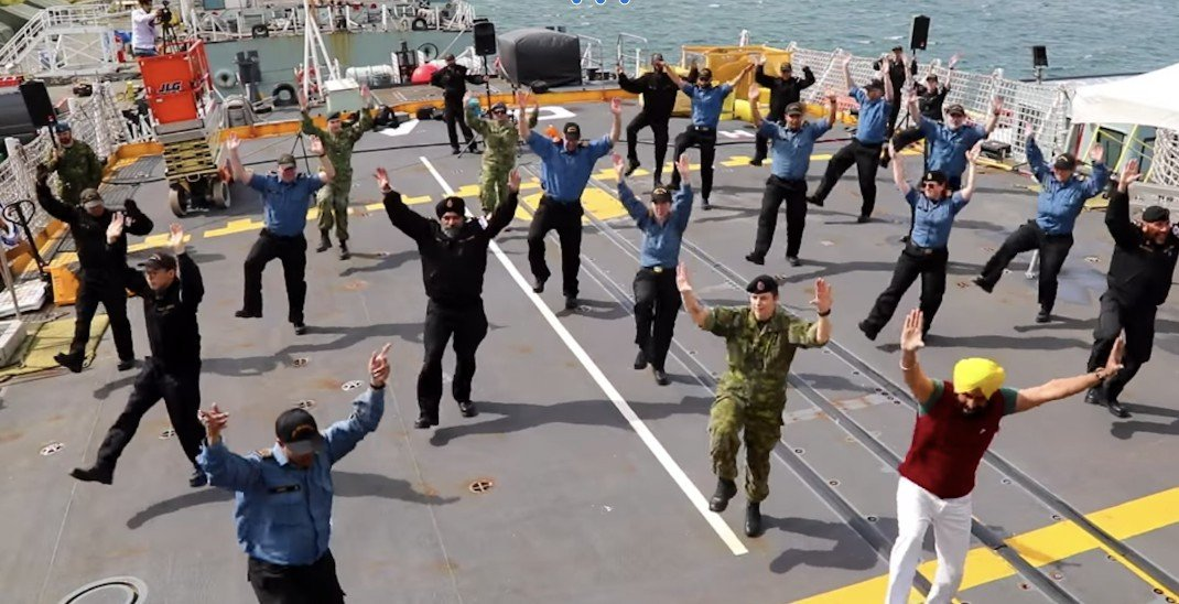 Canadian Armed Forces bhangra video shows 'beautiful side' of multiculturalism