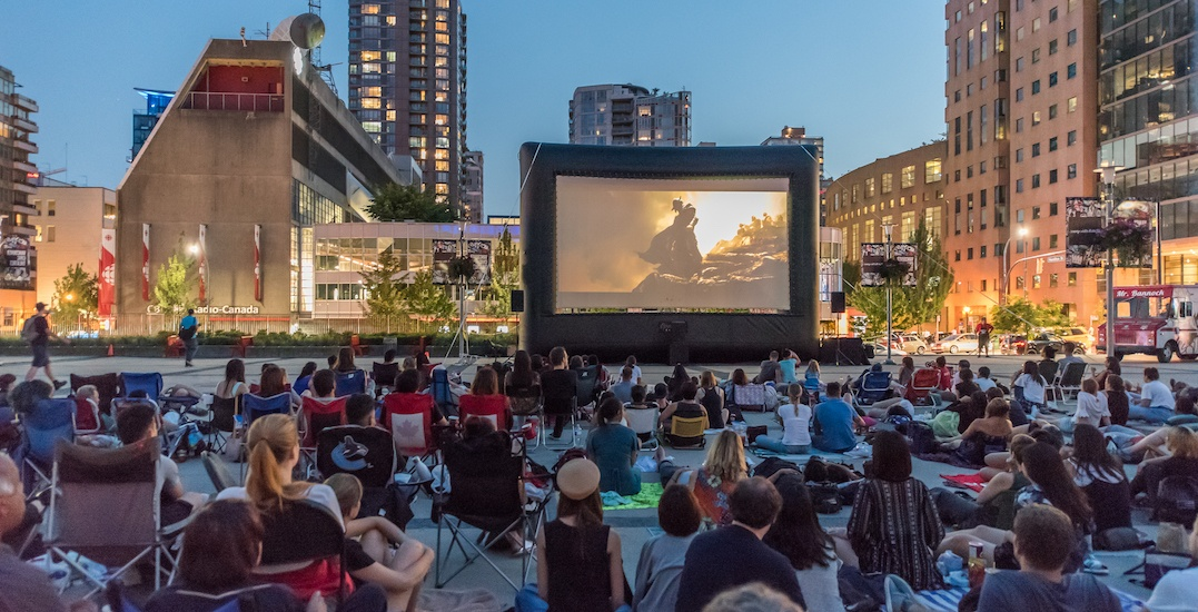 Here are all the FREE movies you can watch at Vancouver Civic Theatre's Sunset Cinema