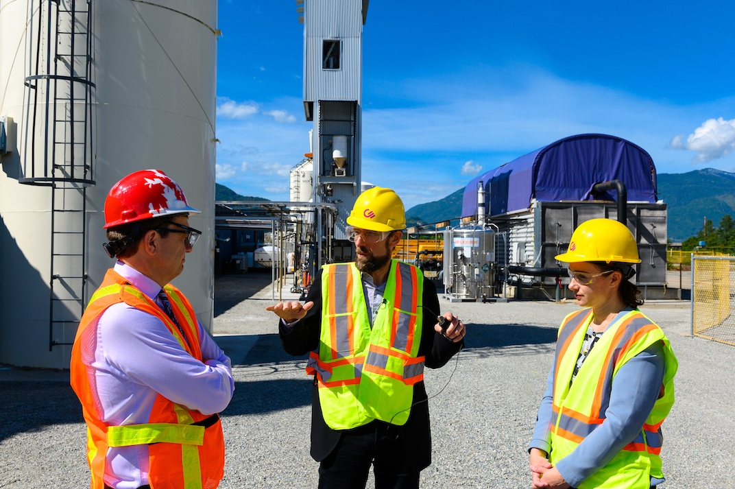 Carbon Engineering in Squamish, June 25, 2019. (Carbon Engineering)