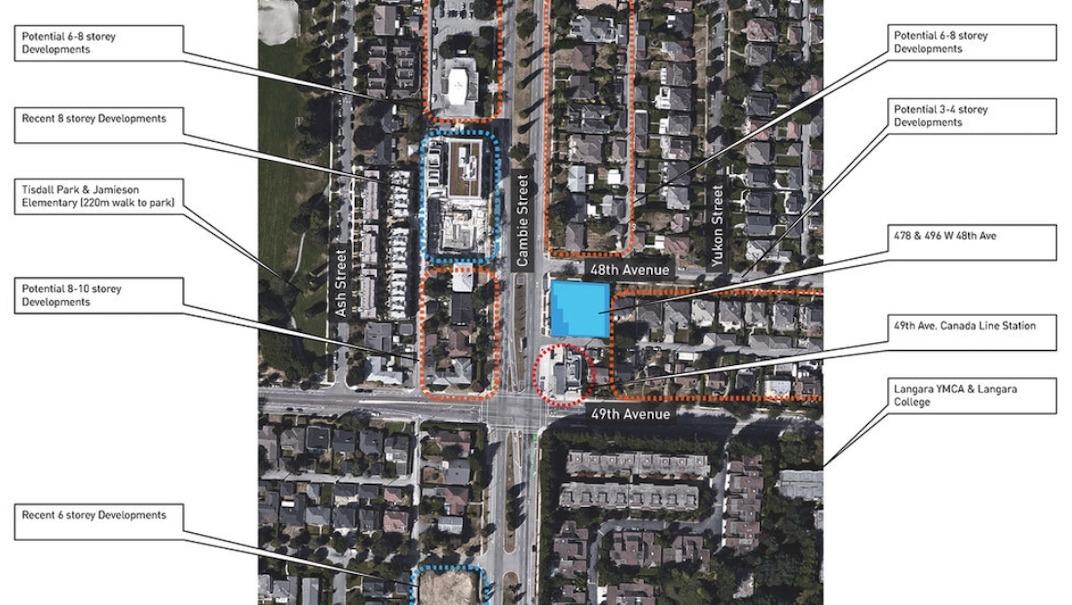 478-496 West 48th Avenue, Vancouver