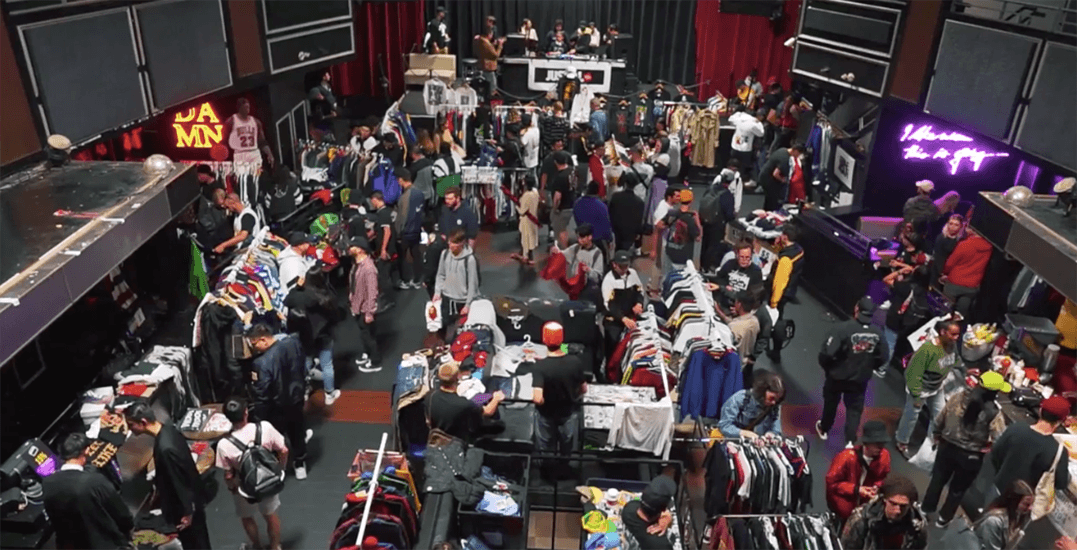 Vancouver's streetwear and vintage flea market returns this weekend