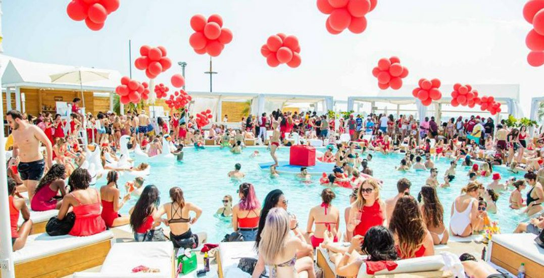 TheRed Party at Cabana Pool Baris happening this weekend