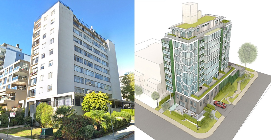 Seismic upgrade and renovations proposed for Beach Avenue rental tower in the West End