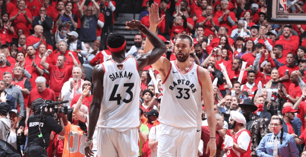 Marc Gasol is returning to the Raptors next season