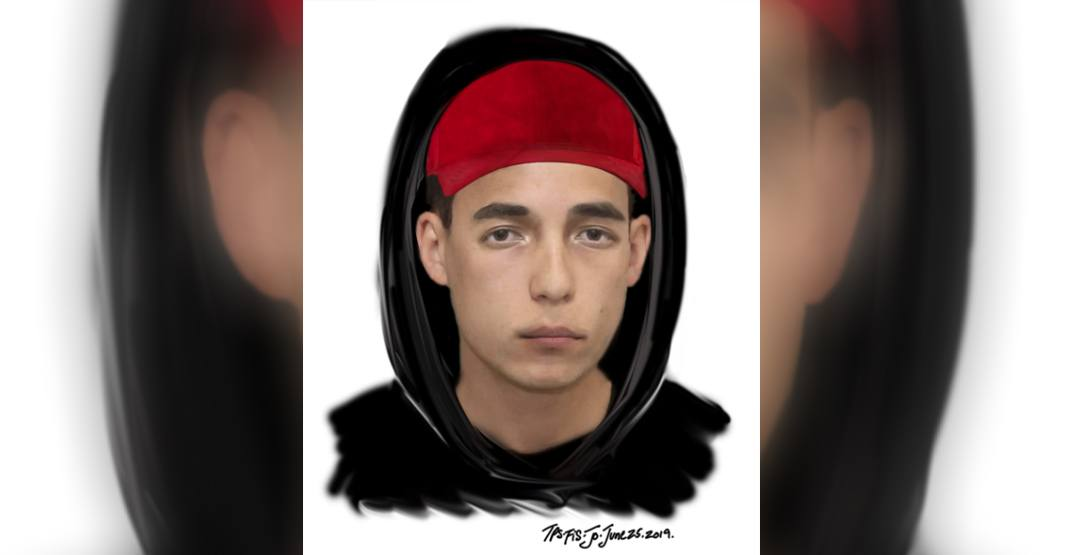 Police release sketch of suspect in sexual assault of teenage girl
