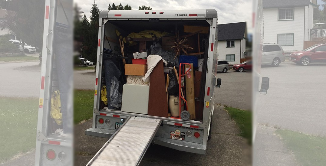 Langley couple lose almost everything after moving truck stolen: police