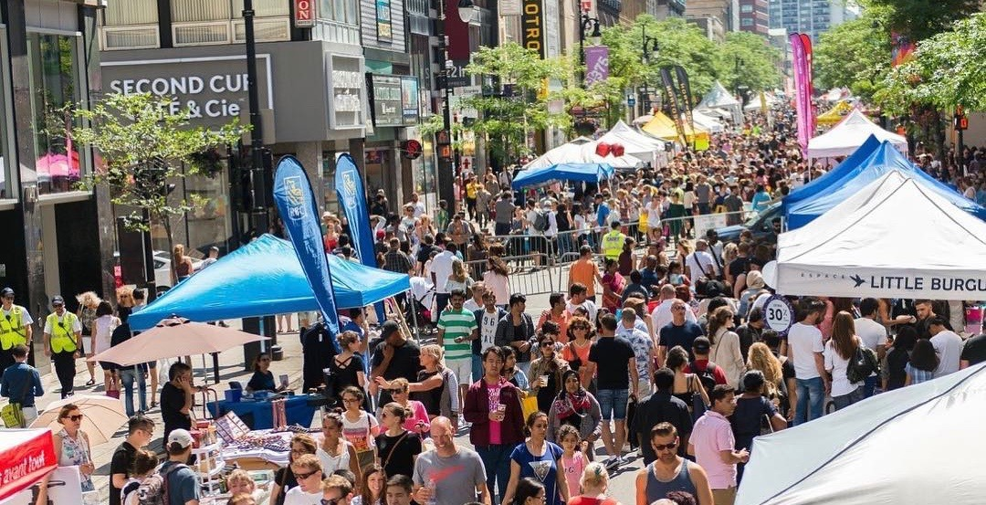 Montreal's massive sidewalk sale returns to Ste. Catherine Street from July 12 to 14