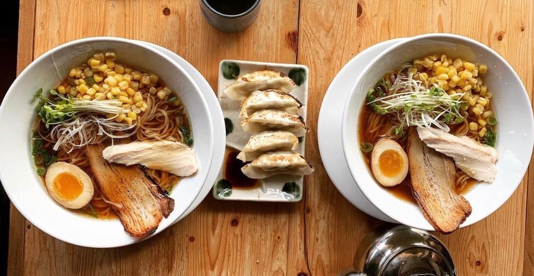 Vancouver eatery 'Menya Raizo' offering FREE ramen until July 7