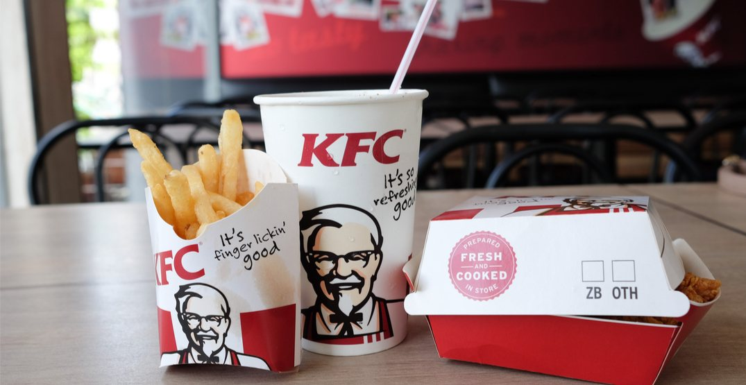 KFC Canada to eliminate all plastic straws and bags by October 2019