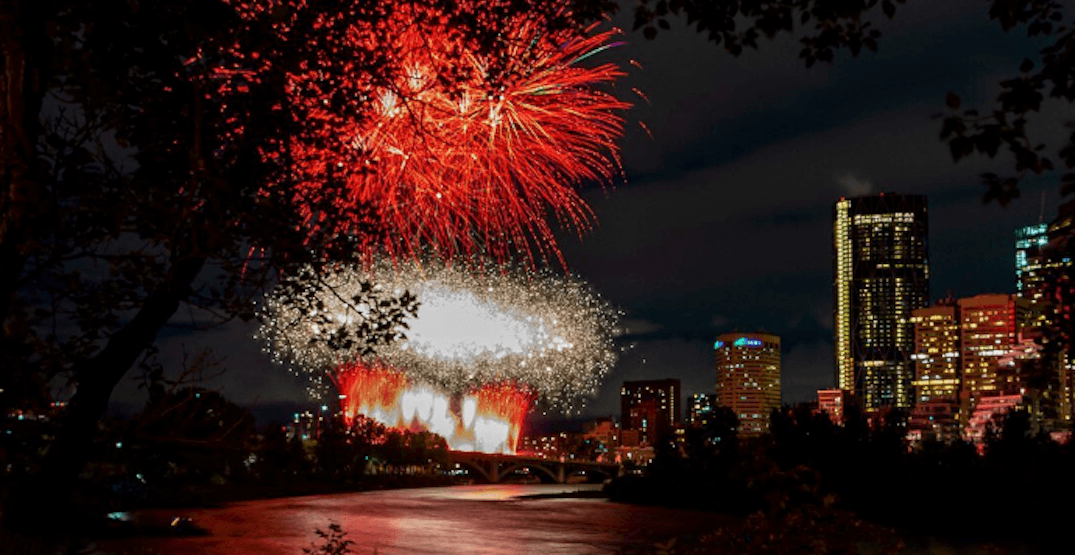 Calgary saw a stunning fireworks celebration for Canada Day (PHOTOS)
