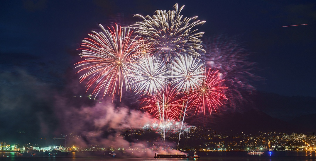22 fantastic shots of Canada Day fireworks in Vancouver (PHOTOS)