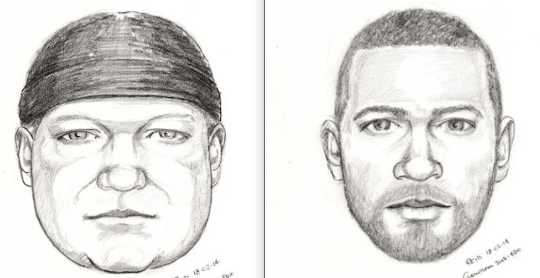 RCMP release sketches of suspects in violent home invasion