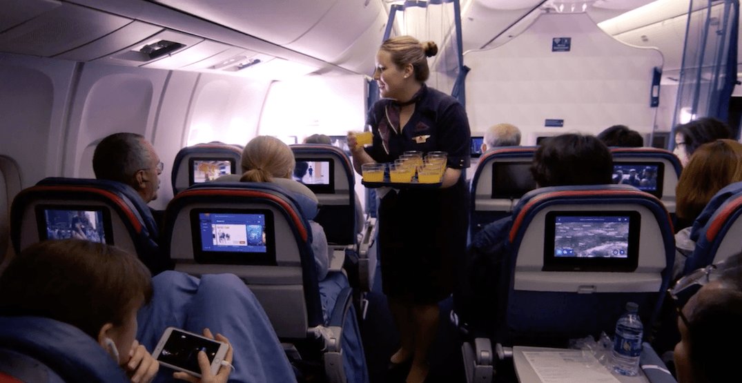 Delta Airlines will soon offer economy passengers a free welcome cocktail and other perks