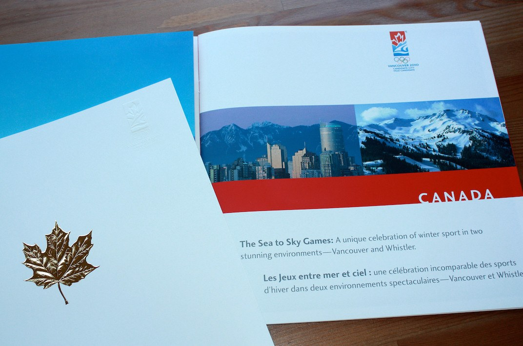 Vancouver 2010 Olympic Bid Book