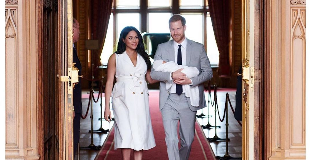 The royal baby is travelling to South Africa this fall