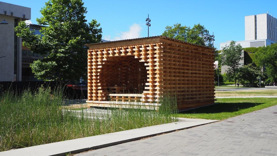 C-Shore pavilion at UBC