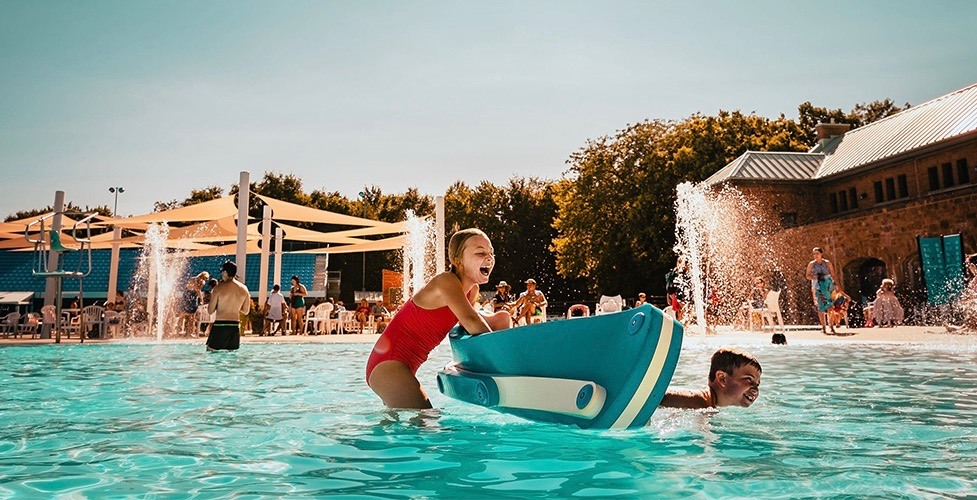 Parc Jean Drapeau's Aquatic Complex is now open every day for the summer