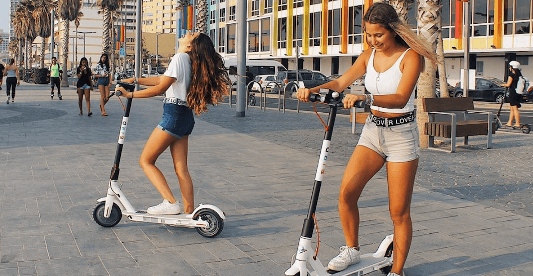Shared electric scooters expected to hit Calgary streets this week
